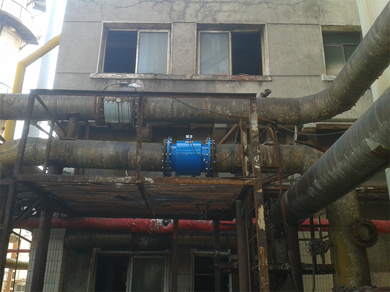 Wastewater measurement in Wuhan Iron and Steel Thermal Power Plant